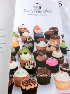 twelve cupcakes leaflet