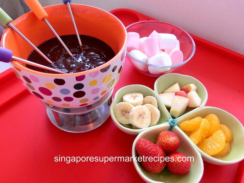 Basic chocolate fondue recipe snickerdoodle cookie recipe