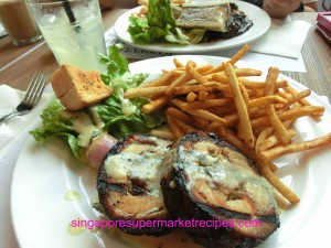 1 Everything with fries at Bugis grilled cha siew
