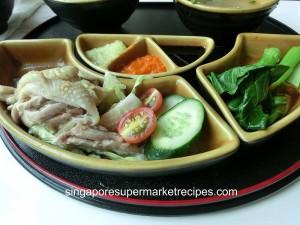 Chui Huay Lim Bistro Chicken Rice Set