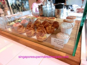 Everything with fries at Bugis muffins and puddings