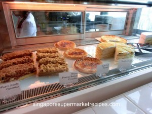 Everything with fries at Bugis pastry and cakes