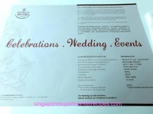 Chui Huay Lim Bistro  Wedding Events