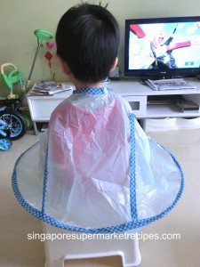 daiso haircut cape product reviews