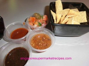 Baja Fresh Meixcan Grill at Hotel Rendezvous - nachos chips