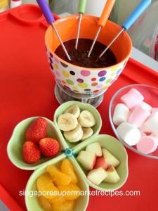 simple & quick chocolate fondue recipes