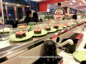 Sushi Express at CityLink Mall Converyor sushi at its best