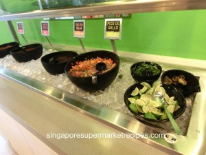 Baja Fresh Meixcan Grill at Hotel Rendezvous - salsa and jalapeno spread
