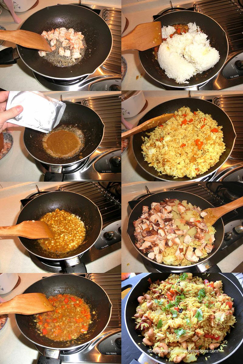 simple and quick recipes pineapple fried rice recipes