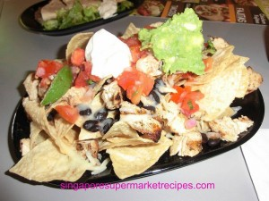 Baja Fresh Meixcan Grill at Hotel Rendezvous - nachos with grilled chicken breast