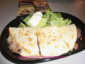 Baja Fresh Meixcan Grill at Hotel Rendezvous - quesdillas