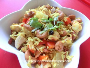 pineapple fried rice recipes