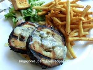 Everything with fries at Bugis cha siew
