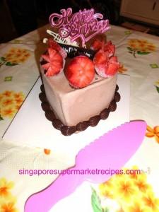 Baskin Robbins Valentine's Day Ice Cream Cake