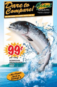 Giant  Supermarket Promotions Salmon