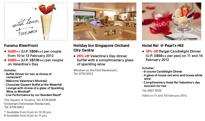 Hsbc Credit Card Valentine S Day Promotions