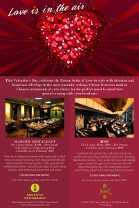 Jing & Majestic Valentine's Day Promotions
