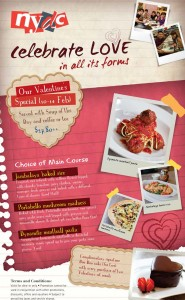 NYDC Valentine's Day Promotions Singapore