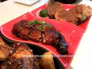 Taste restaurant at Ibis hotel - roast duck