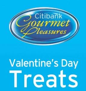 citibank gourmet pleasures valentine's day treats