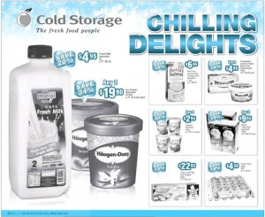 cold storage chilling delights supermarket promotions
