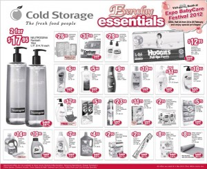 cold storage every day essentials supermarket promotions