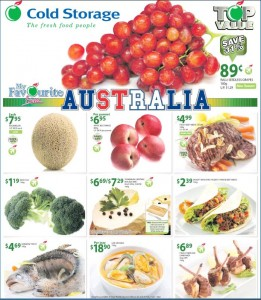 cold storage supermarket promotions australia products
