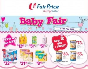 fairprice baby fair  supermarket promotions