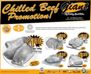 giant  supermarket promotions meat