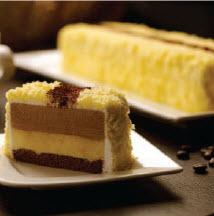 goodwood park hotel durian fiesta - durian cappuccino cake