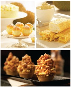 goodwood park hotel durian fiesta - macadamia nut crumble tart