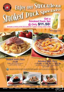 pasta mania smoked duck promotions