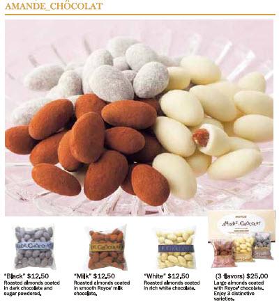 royce almond chocolates