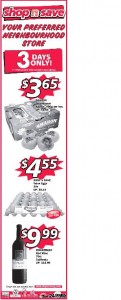 shop n save 3 days supermarket promotions
