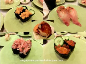Sushi Express at CityLink Mall