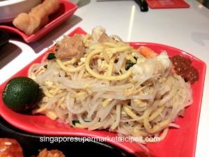 taste restaurant at Ibis - hokkien mee
