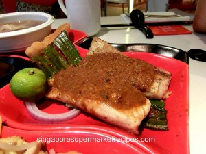 taste restaurant at Ibis - sambal stingray