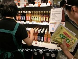 Japan Kyushu Fair at Isetan - fruit juice and vinegar