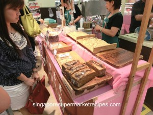 Japan Kyushu Fair at Isetan - cake and warabi cake