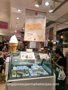 Japan Kyushu Fair at Isetan - orange cake
