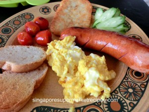 breakfast using happypan