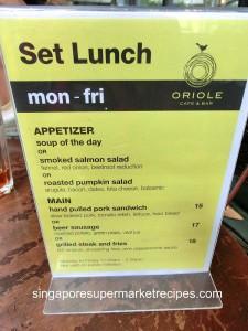 Oriole Cafe & Bar at Somerset