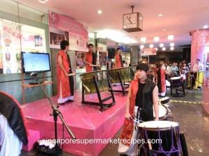 Japan Kyushu Fair at Isetan - performance