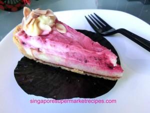 java detour mbs berry yogurt cheese cake