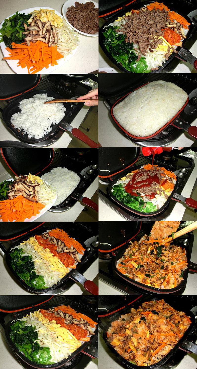 quick and simple korean bibimbap recipes