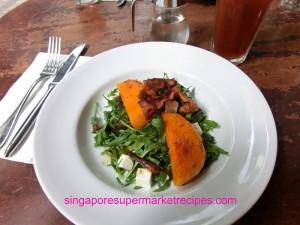 Oriole Cafe & Bar at Somerset roasted pumpkin salad