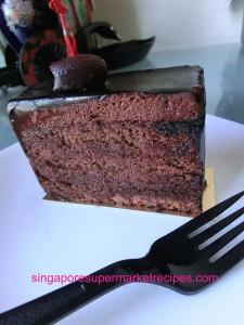 java detour mbs chocolate cake