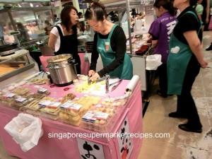 Japan Kyushu Fair at Isetan - siew mai and gyoza