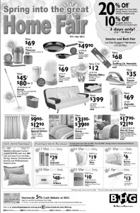 BHG Spring Home Fair Promotions