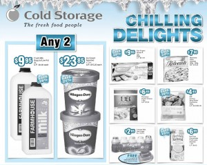 Cold Storage Chill Items Supermarket Promotions